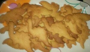 galletas de dinosaurios