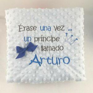 manta personalizada, Arturo