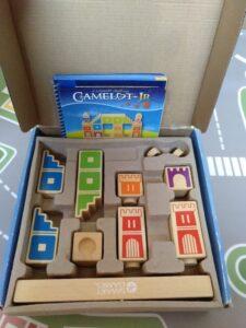 castillo dentro de la caja