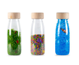 botellas sensorial