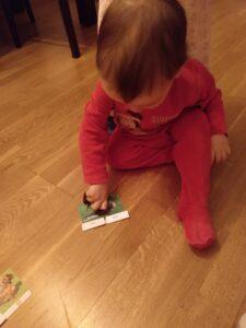 Gonzalo jugando