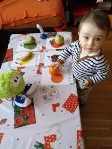 Baby Brain frutas