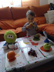 Baby brain y las frutas