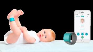pulsera liip care en el bebé