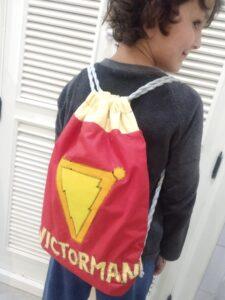 mochila de monnaditas