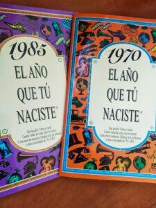 libros del 1970 y 1985