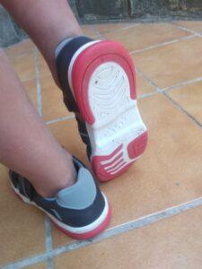 suela de las zapatillas garvalín