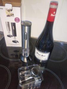 abre vinos electrico.