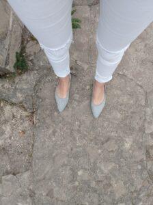zapato VIVAIA color gris nube