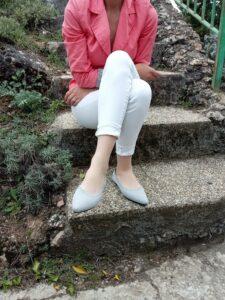 zapato VIVAIA gris